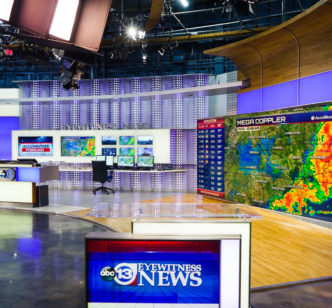 ABC13 News Station LED Lighting