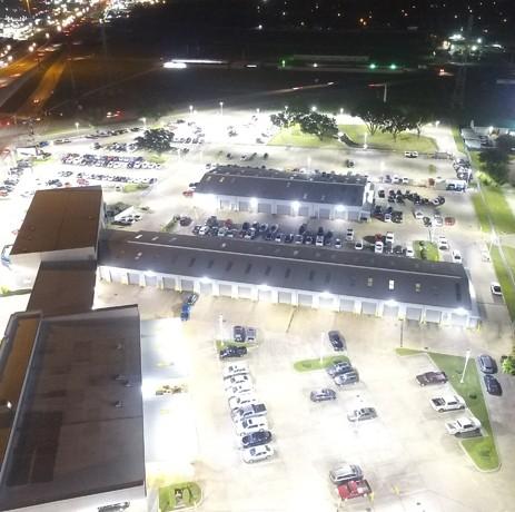 Mac Haik Dealership LED Parking Lot