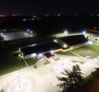 Humble Texas Church LED Parking Lot National LED