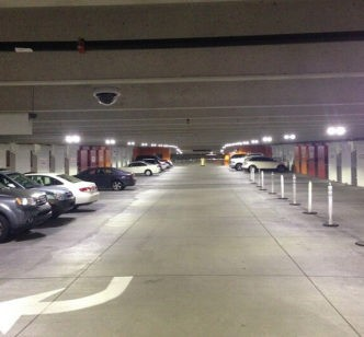 City Plaza Parking Garage LEDs National LED