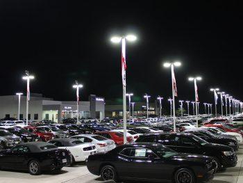 Parking Lot LED Lighting