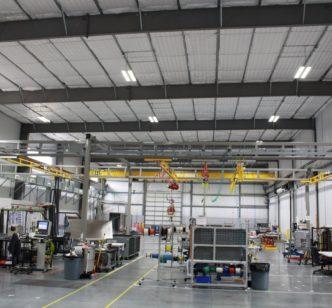 Watlow Manufacturing Facility LED Lighting