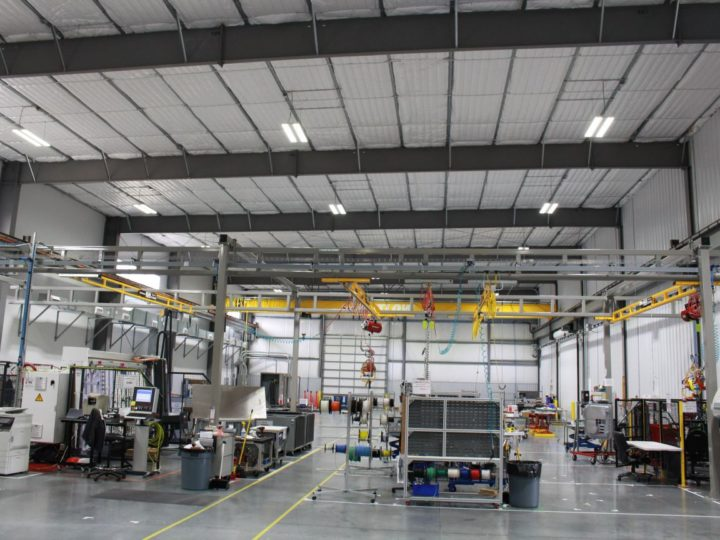 Watlow Manufacturing Facility LED Lighting National LED