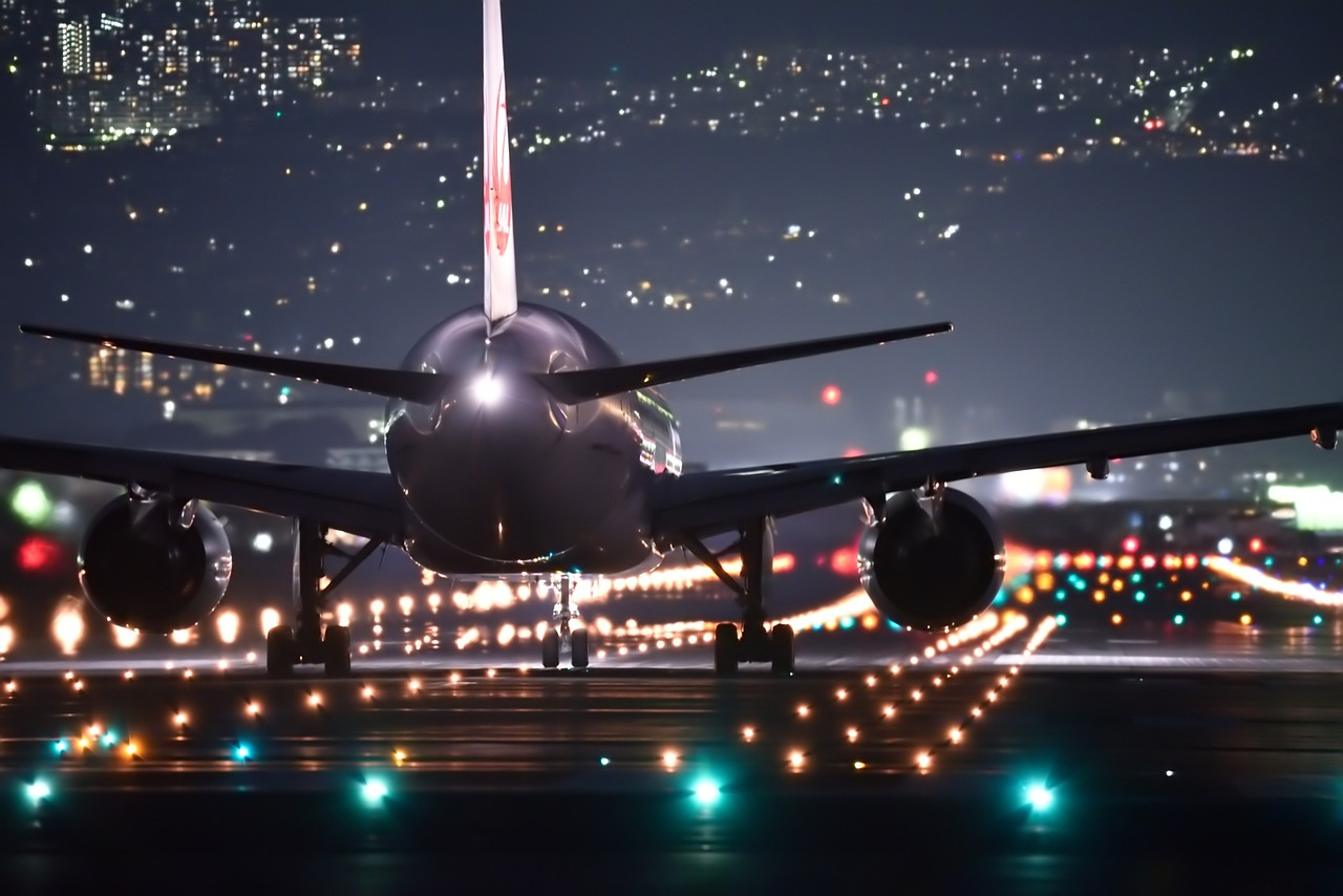 Airplane taking off LED Lighting