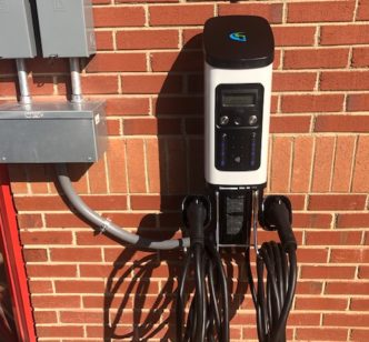 Electric Vehicle Charging National LED