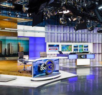 ABC13 News Station LED Lighting