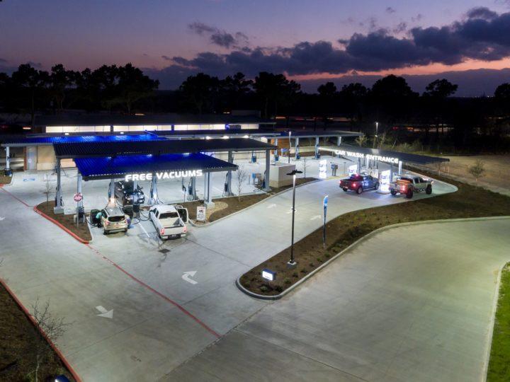 Car Wash LED Conversion National LED