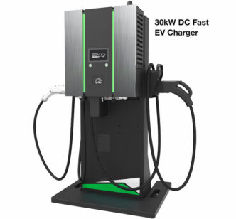 TurboEVC™ Ultra-Fast DC EV Charger National LED